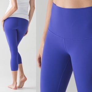 Lululemon Wunder Under high rise crop leggings